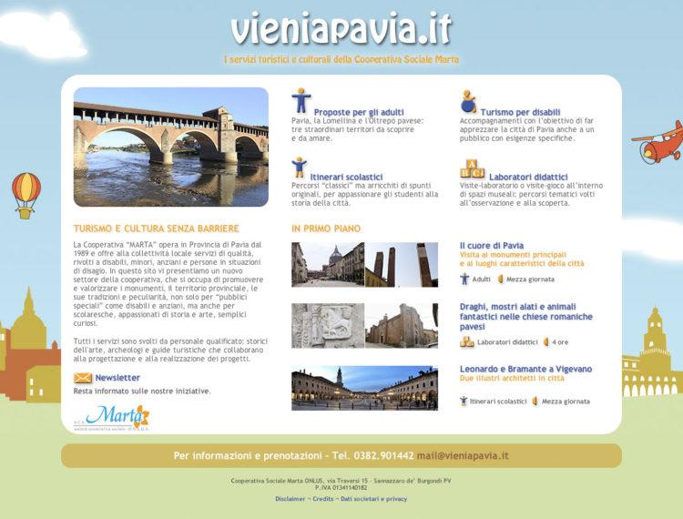 Vieni a Pavia turismo