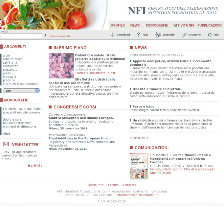 NFI - Nutrition Founfation of Italy